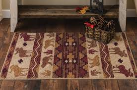 image of washable accent rugs for kitchen