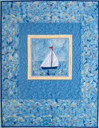 Pattern for Quilted Tote Bags, Sailboat Quilt Pattern, Baby Quilt ... & Tyler's Sailboat Adamdwight.com