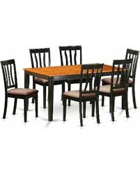 NIAN7BCH 7PC Kitchen Table SetDining And 6 Dining Chairs Faux