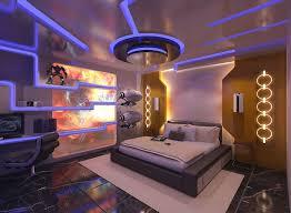design futuristic bedroom design idea