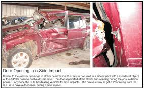 door opening in a side impact defect lawyer