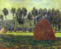 claude monet 1840 1926 haystack at giverny oil on canvas 1890