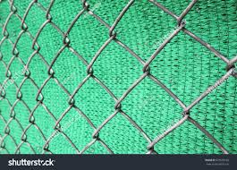 Rusty Chain Link Wire Mesh Fence Stock Photo Safe to Use 679659196