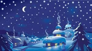 Christmas Scenes Free Downloads Winter Christmas Scene Vector Illustration Free Vectors