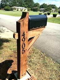 wood mailbox posts. Interesting Posts Wooden Mailbox Posts Post Appealing For  Home Interior Decor With  In Wood T