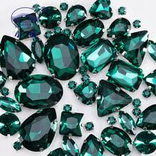 all sizes 2058hf emerald dark green diy flatback hot fix rhinestone iron on crystal strass for hotfix motif designs