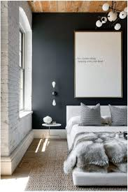 Minimalist Bedroom Furniture Scandinavian Minimalist Bedroom Idea With Wood Ceiling And Black