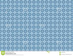 Blauw Bloemen Uitstekend Geometrisch Sier Oosters Arabisch Van Het