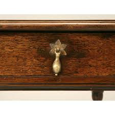 19th Century French Country Style Pine DeskWriting Table With Top Country Style Writing