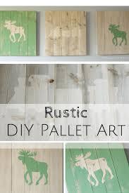 Pallet Art Monthly Diy Challenge Rustic Scrap Wood Pallet Art Making It In