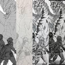 モンハンとゼルダの絵を描いたイラストメイキング感想反省 描くラボ