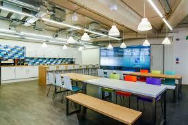office cafeteria design. Alteryx UK Office Design \u0026 Fit Out Cafeteria