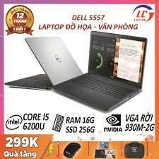 Laptop đồ họa dell 5557 core i5, vga rời nvidia 930m- 2g, laptop cũ chơi  game đồ họa giá rẻ