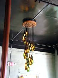 build your own chandelier looking for a great home decor project got a bright idea for build your own chandelier
