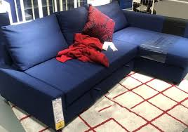 ikea friheten corner sofa bed with