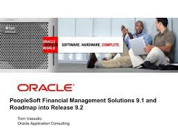 PeopleSoft Financial Management Solutions 9.1 and Roadmap into ...