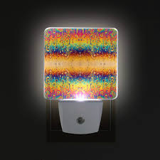 Trippy Outdoor Lights 0 5w Plug In Night Light Psychedelic Trippy Optical Illusion