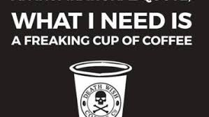 Put that in your cup and drink it! Coffee I Need More Coffee Coffee Meme