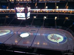 Bell Mts Place Section 319 Winnipeg Jets Rateyourseats Com