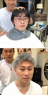 anese barber shows just how much difference a good haircut can make bored panda