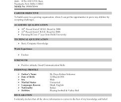 Sample Resume For Mba Hr Experienced Sample Resume For Mba Hr