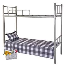 cartoon bunk bed. Student Dormitory Single Bed Bunk Double 1.8 Meters 1.2/1.5m Cartoon Brushed Sheets