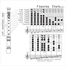 Treble Recorder Note Chart Recorder Finger Chart Sample 7 Documents In Pdf