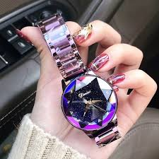 <b>2019 Luxury Brand lady</b> Crystal Watch Women Dress Watch ...