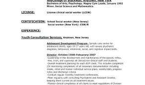 Casac T Resume Sample Best Of Lcsw Resume Templates Betogether