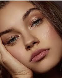 dusky rose millennial pink makeup ideas photos