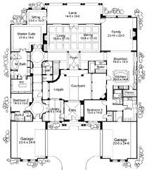 plan 16826wg exciting courtyard mediterranean home plan sitting Beach House Plans Victoria plan 16826wg exciting courtyard mediterranean home plan victorian style beach house plans