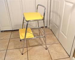image of kitchen step stool iron