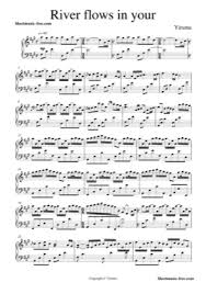 A short history about river flows in you sheet music by yiruma. River Flows In You 2 Yiruma Free Piano Sheet Music Pdf