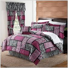 Kohls Bedroom Furniture Purple Zebra Bedding Set Full Shaibnet