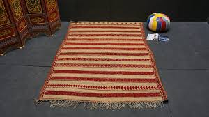 moroccan hassira mat 6x9 vintage moroccan wool straw rug vintage moroccan hassira carpet berber mat rug