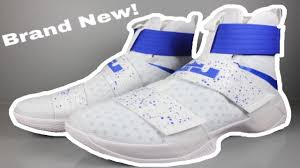 lebron white shoes. how to clean white shoes (easy brand new lebron soldier 10\u0027s again tutorial) lebron white shoes
