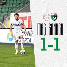 Denizlispor - ⏱️'90 Maç Sonucu Çaykur Rizespor 1-1 Yukatel Denizlispor'umuz  #ÇRSvDNZ