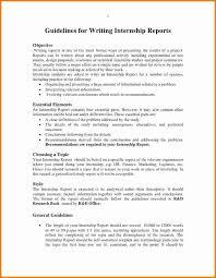 Internship Report Sample Adorable 44 How To Write Internship Report Pulsefitseattle