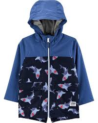 Skip Hop Raincoat Size Chart Shark Color Change Rain Jacket Carters Com