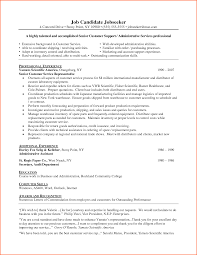 customer service representative resume  event planning template