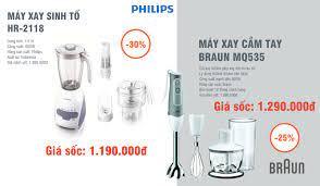 Máy xay sinh tố Philips HR2118 và Máy... - Gia Dụng Sơn Hùng