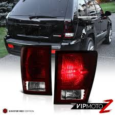 Jeep Cherokee Brake Light Bulb Details About Dark Cherry Red For 2007 2010 Jeep Grand