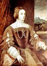 wealthy tudor woman