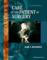 Alexanders Care Of the Patient in Surgery 14th Edition Rothrock - Test Bank  – Exam Solutions