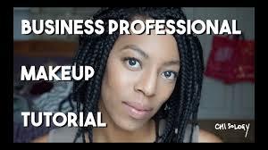 business professional headshot makeup