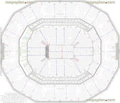 Yum Center Detailed Seating Chart 13 Detailed Seat Row Numbers End Stage Concert Sections