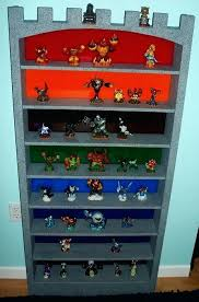 Skylander Bedroom Custom Castle Shelf Elemental Version Via Skylander  Bedroom Wallpaper . Skylander Bedroom ...