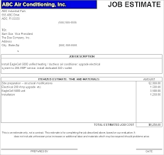 Job Quote Template Excel Electrical Estimate Template Co Electrician Quote Excel And