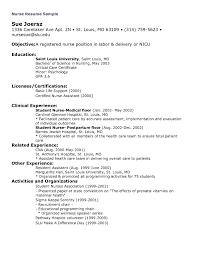 Nursing Resume Template Free Resume Online Builder