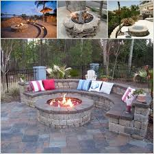 9 Stone Fire Pit Designs For Your Hoe's Outdoor 1